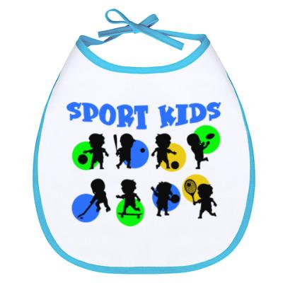 Слюнявчик Sport kids