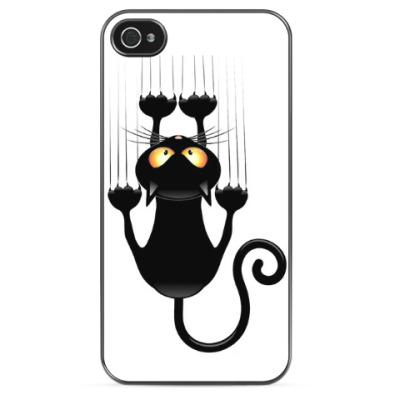 Чехол для iPhone Когтистая кошка