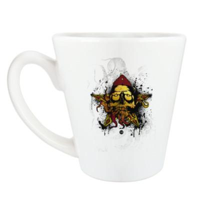 Чашка Латте Красная армия