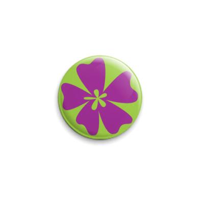 Значок 25мм  Цветик