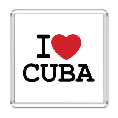Магнит I Love Cuba