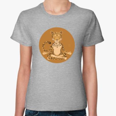 Женская футболка Animal Zen: J is for Jaguar
