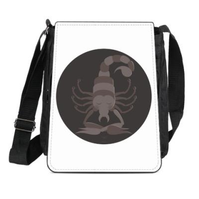 Сумка-планшет Animal Zen: S is for Scorpion