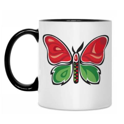 Кружка Бабочка-Метаморфоза