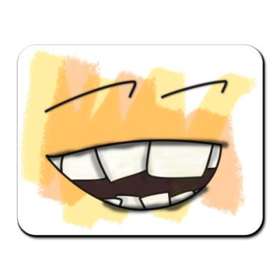 Коврик для мыши UWrong Smile (Коврик для м)