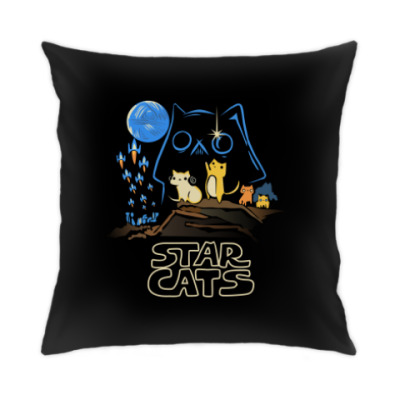 Подушка star cats