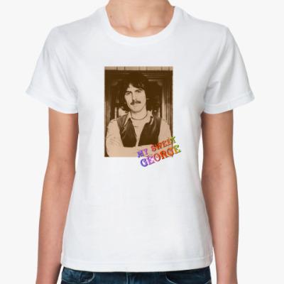 Классическая футболка  My Sweet George (жен)