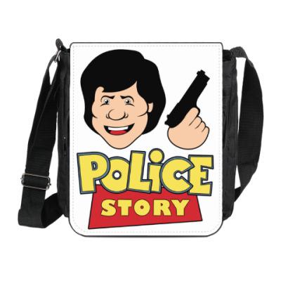 Сумка на плечо (мини-планшет) Police story