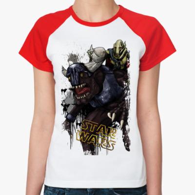 Женская футболка реглан STAR WARS