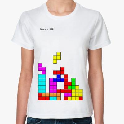 Классическая футболка  'TETRIS'