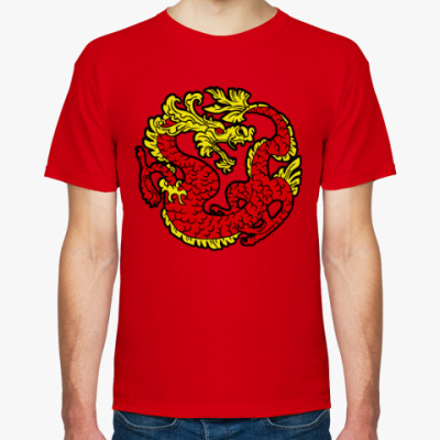 Футболка Красный дракон