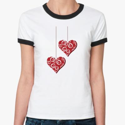 Женская футболка Ringer-T Подвески