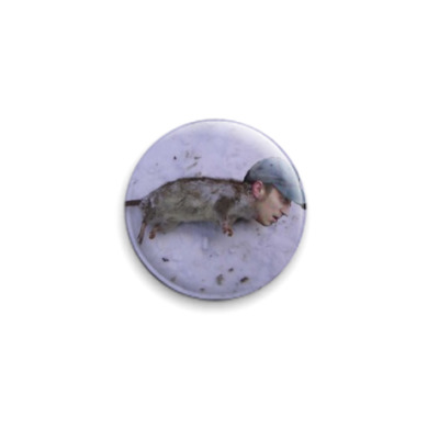 Значок 25мм Mouse Man