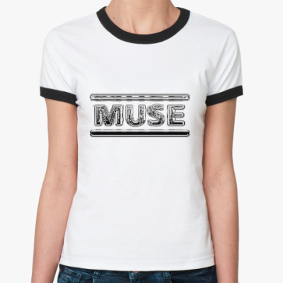 Женская футболка Ringer-T Muse