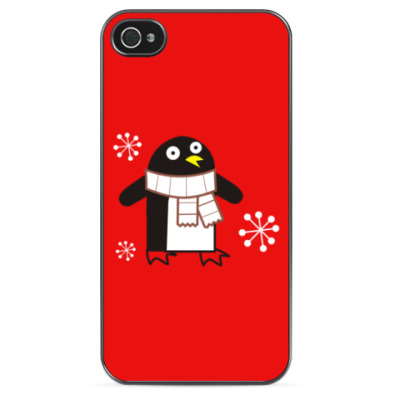 Чехол для iPhone Пингвин