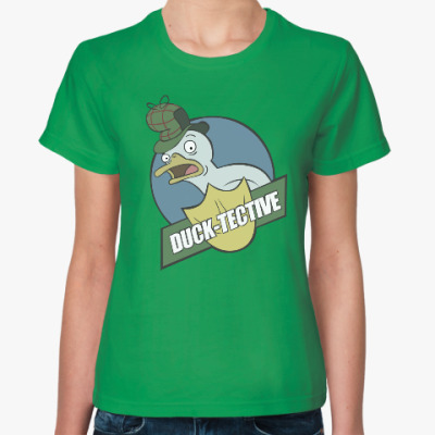 Женская футболка Gravity Falls duck