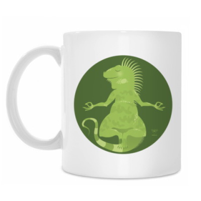 Animal Zen: I is for Iguana