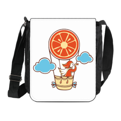 Сумка на плечо (мини-планшет) Апельсинка