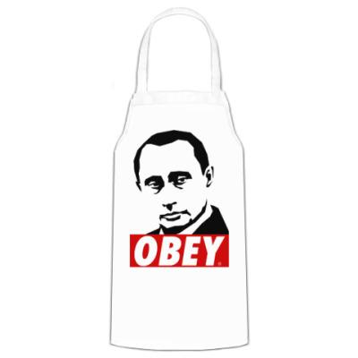 Фартук Путин (Стиль Obey)