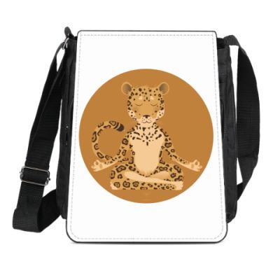 Сумка-планшет Animal Zen: J is for Jaguar