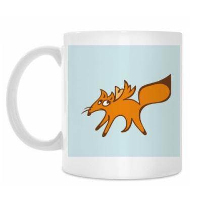Кружка Застенчивый лис