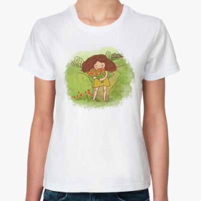 Классическая футболка лето,счастье!