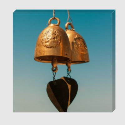Холст Буддийские колокольчики / Buddhist bells