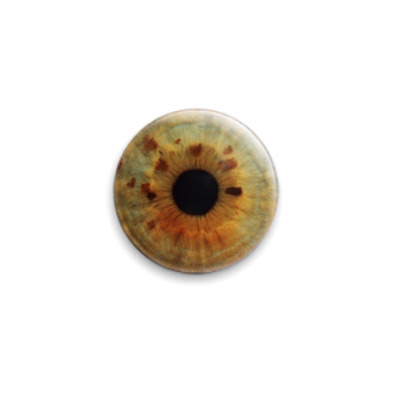 Значок 25мм eye-11  25 мм