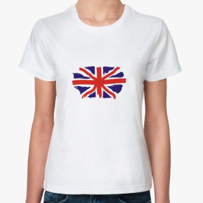 Классическая футболка british