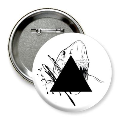 "Значок 75мм ""Triangle"""