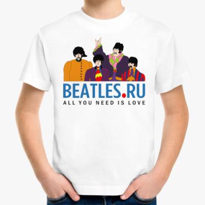 Детская футболка Детская футболка Beatles.ru