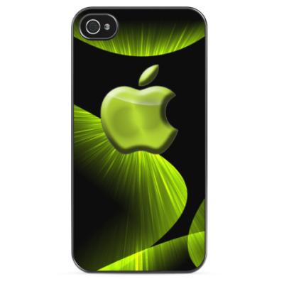 Чехол для iPhone Сияющий Apple