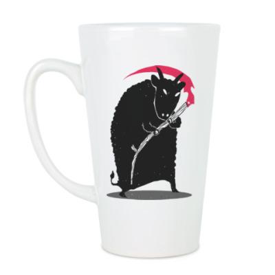 Чашка Латте Мрачный убийца