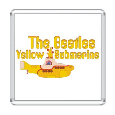 Магнит  Yellow Submarine (квад)