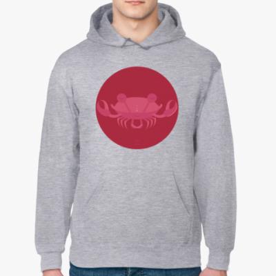 Толстовка худи Animal Zen: C is for Crab