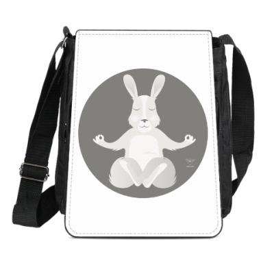 Сумка-планшет Animal Zen: R is for Rabbit