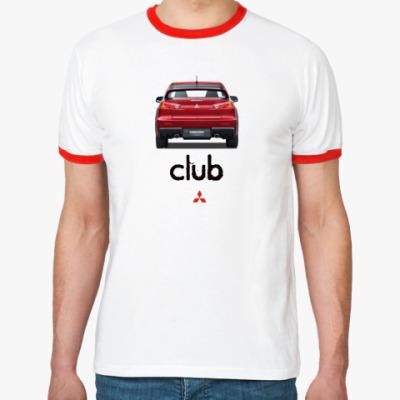 Футболка Ringer-T Mitsubishi club