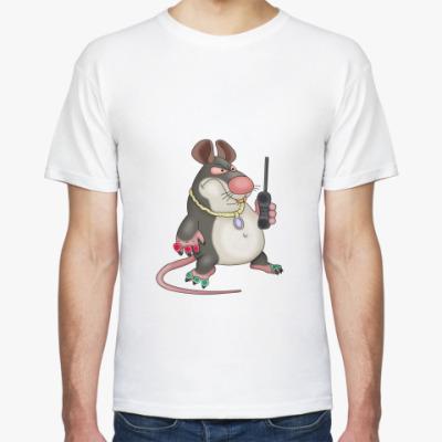 Футболка Мышь с мобилой