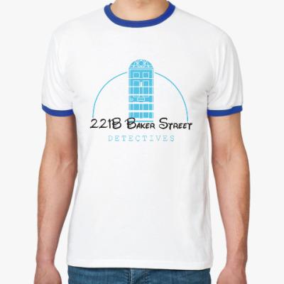 Футболка Ringer-T 221 Baker Street
