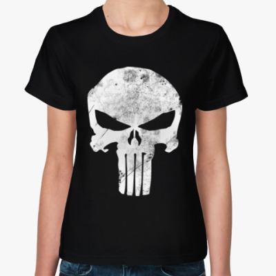 Женская футболка Каратель 2015