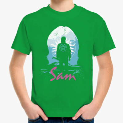 Детская футболка Sam - Supernatural