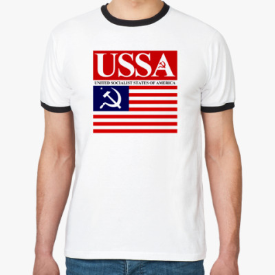 Футболка Ringer-T USSA