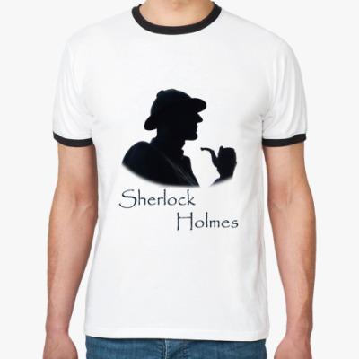 Футболка Ringer-T `Шерлок Холмс` Муж. футболка