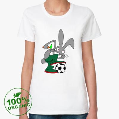 Женская футболка из органик-хлопка Rabbit