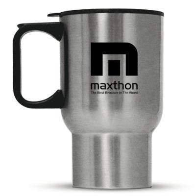 Кружка-термос Термо-кружка Maxthon (сталь)