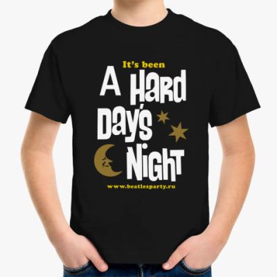 Детская футболка Hard Day's Night (детс. цвет.)