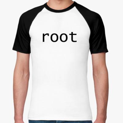 Футболка реглан root