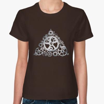 Женская футболка Steel gears up