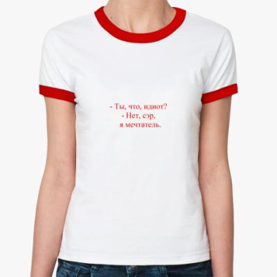 Женская футболка Ringer-T  Scrubs