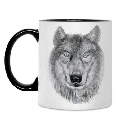 Кружка Волк